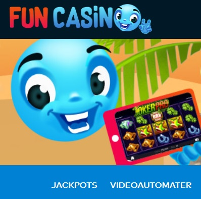Spill med casino på faktura via Fun Casino!