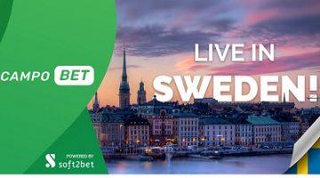 CampoBet fra Soft2Bet debuterer i Sverige!